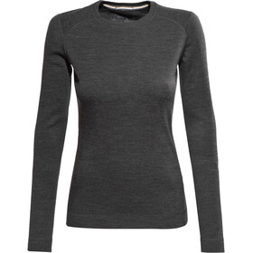 Smartwool Merino 250 Intimo parte superiore Donna, charcoal heather